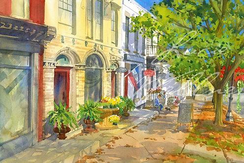 Original Painting | 20 East, Albany Street, Cazenovia