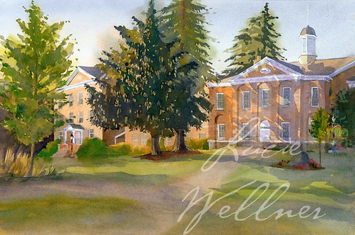Original Painting   Cazenovia College