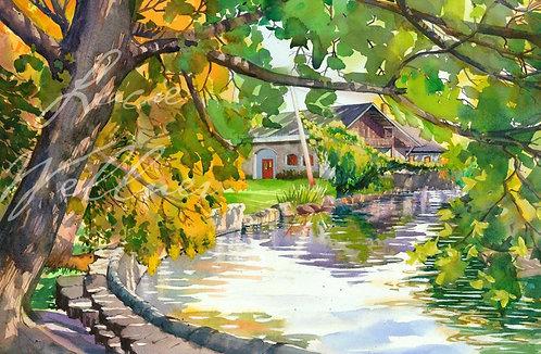 Original Painting | Lakeland Park Inlet