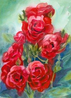 Blossoms Cards Show Biz Study