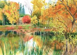 Cazenovia Carpenter Pond with Ruthie