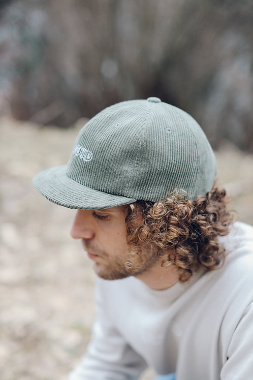 Wall Cap - Corduroy - Forest Green