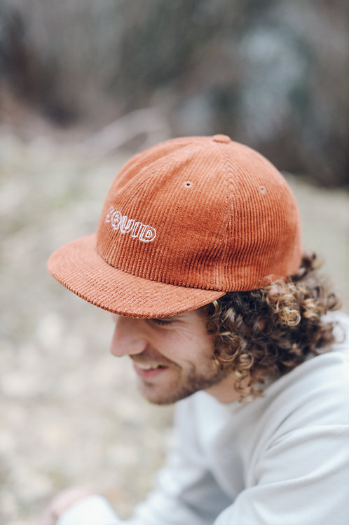 Wall Cap - Corduroy - Rusted Red