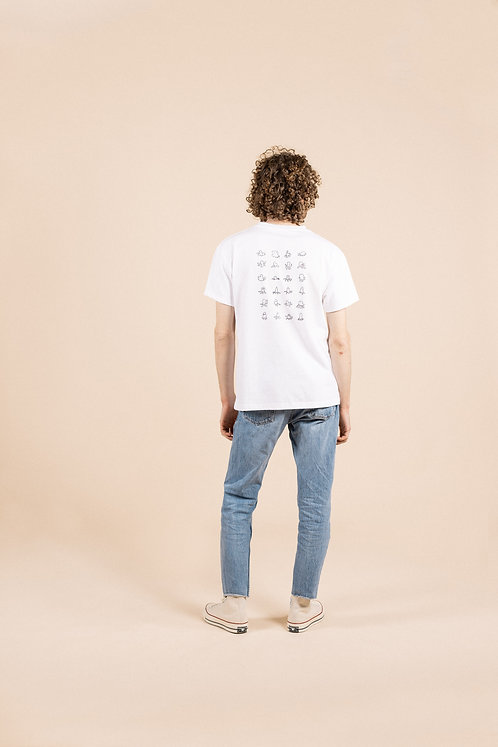 Quickdraw T-shirt - White