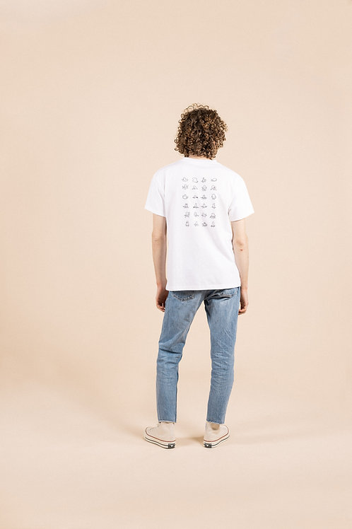 Quickdraw T-shirt - White