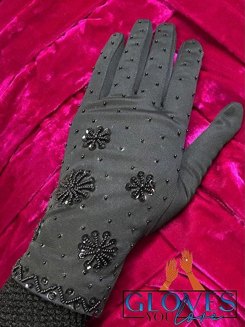 Vintage Beaded Gloves G