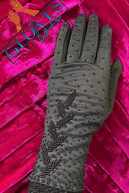 Vintage Beaded Gloves H