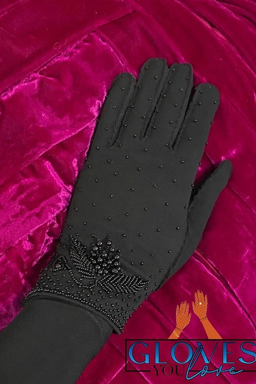 Vintage Beaded Gloves E