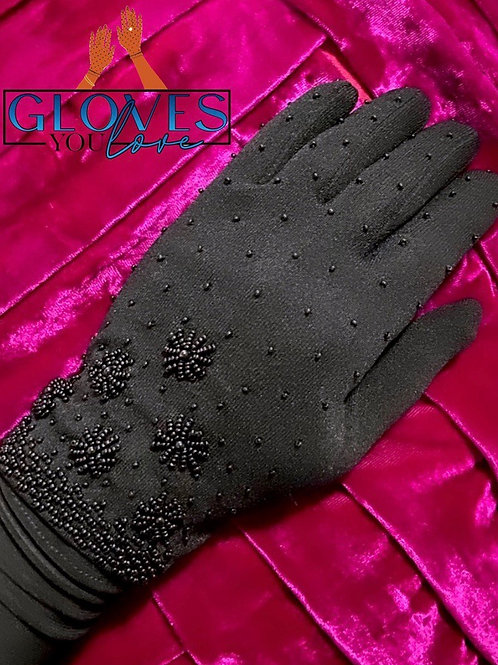Vintage Beaded Gloves C