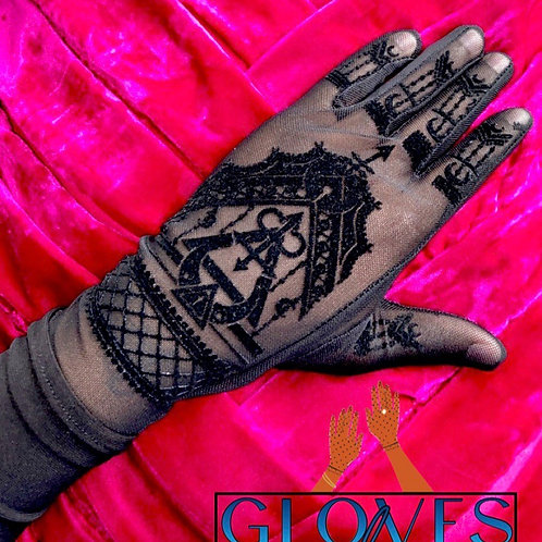 Henna Gloves