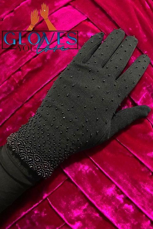 Vintage Beaded Gloves B