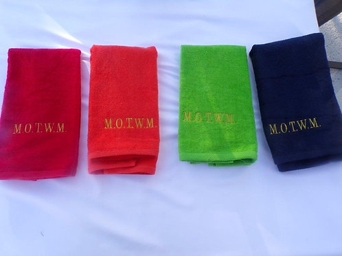 MOTWM Towels