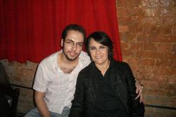com Leila Pinheiro