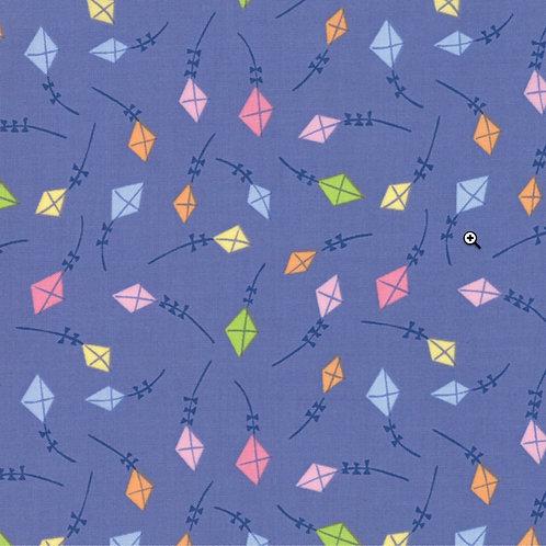 Sunday Picnic Purple Kites by Stacy Iets Hsu for Moda