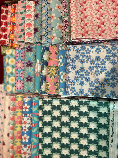 Fabric Clearance Bundle State Flowers