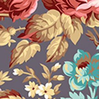 """Around The Roses 2 1/2"""" Strips by Marcha McCloskey for Clothworks"""