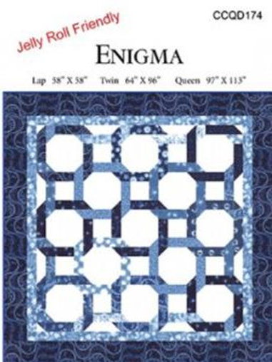 Enigma Quilt Pattern by Debbie Maddy Tiori Designs