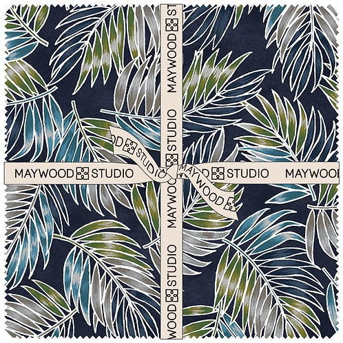 Turtle Bay 10 inch squares by Maywood Studio