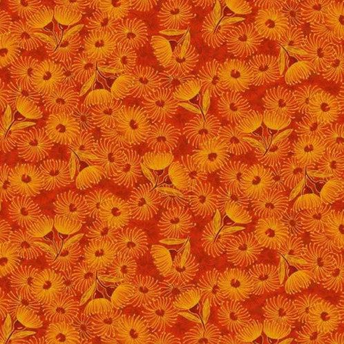 Under The Australian Sun Flowering Gum - Orange - by Leesa Chandler for P & B Te