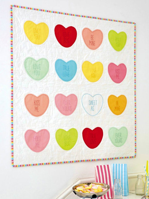 Life is Sweet Quilt Kit by Tied with a Ribbon and Fabric and Frills