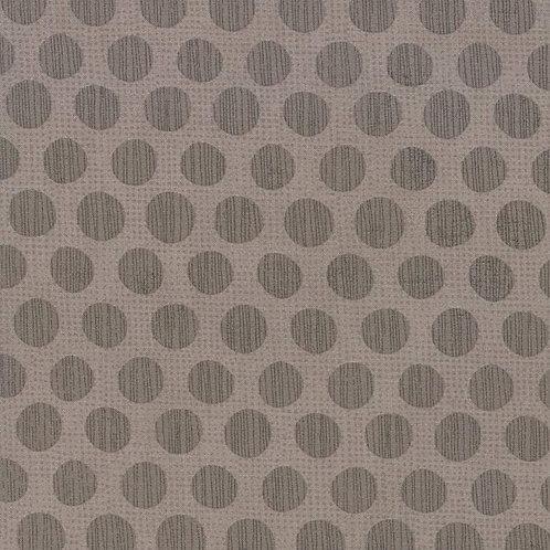 Naughty or Nice Eggnog in Stone gray (Polka Dot) by BasicGrey for Moda