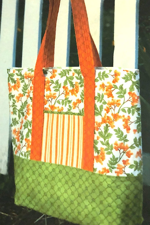 Sturdy and Stylish Tote Kit - by Sally Tomato for Maywood Studios Pattern Includ