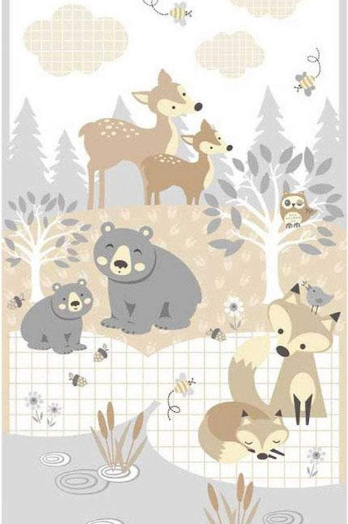 Little Critters Panel by Robin Roderick for P&B Textiles