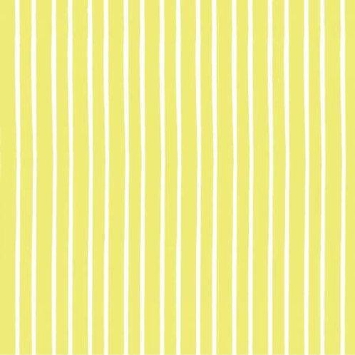 Marguerite - Lime Stripe Yardage