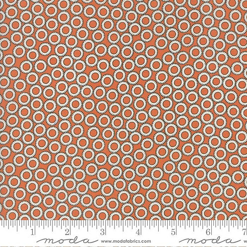 Tangerine Circles - Treehouse club - brought to you by Moda