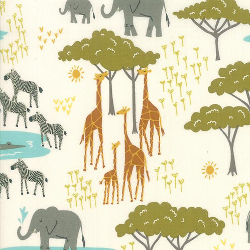 Safari Life Fat Quarter Bundle_32_by Stacy Iest Hsu for Moda