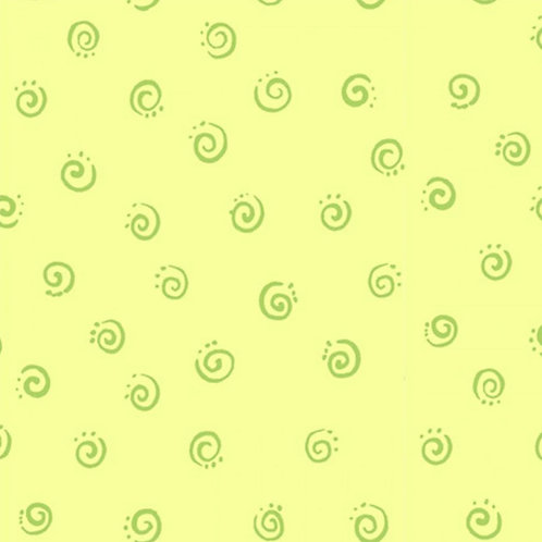 SusyBee Squiggle- Light Green
