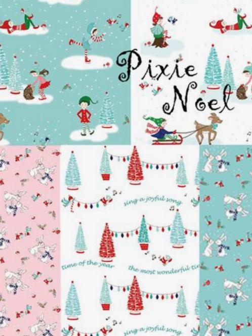 Kit Pixie Noel Table Runner and Simply Fun Book