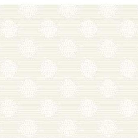Simply Neutral Tone on Tone Cream Polka Dots by Northcott