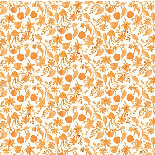 Limonella Amalfi Coral by Brenda Walton for Blend Fabrics