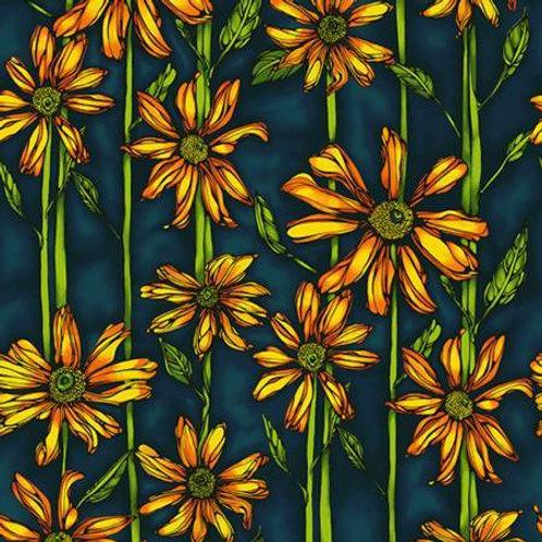 Follow the Sun Yellow and Black Sunflower