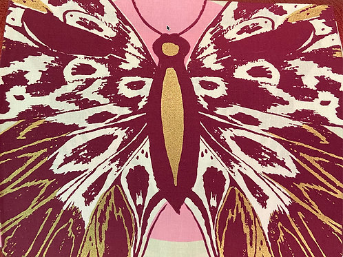 Clearance Fabric Ruby Star Society Butterfly Light Panel