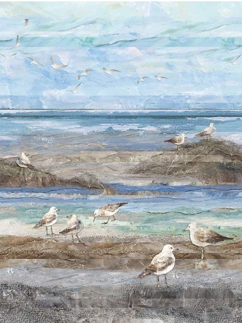 Swept Away Blue Multi Feature by Deborah Edwards and Melanie Samra