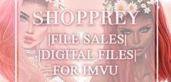 Shopprey | SHOP | Textures and Mesh File Sales