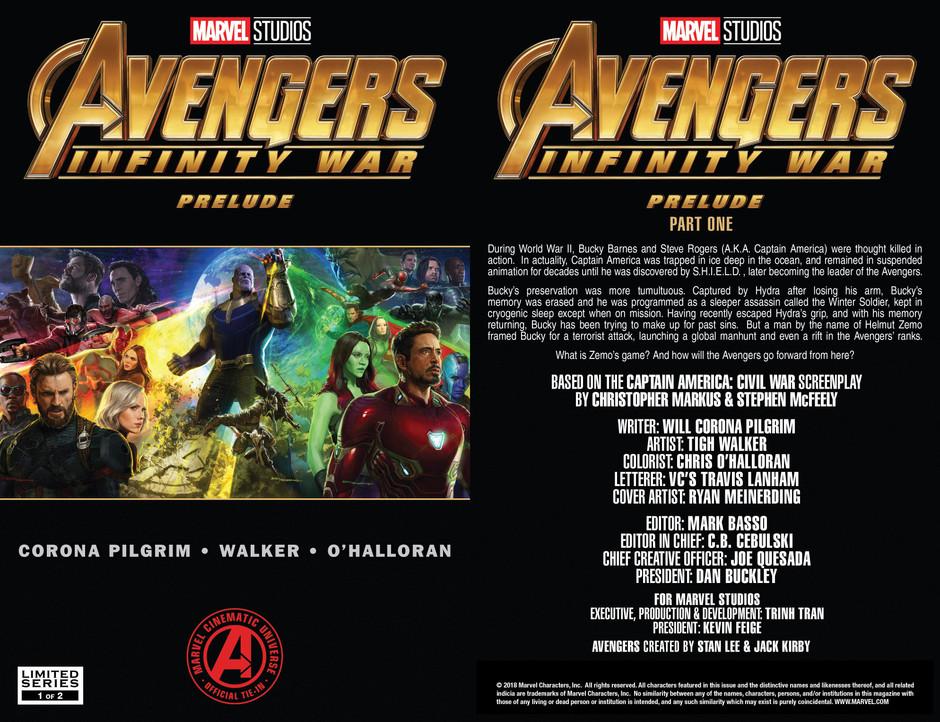 Avengers Infinity War Part 1