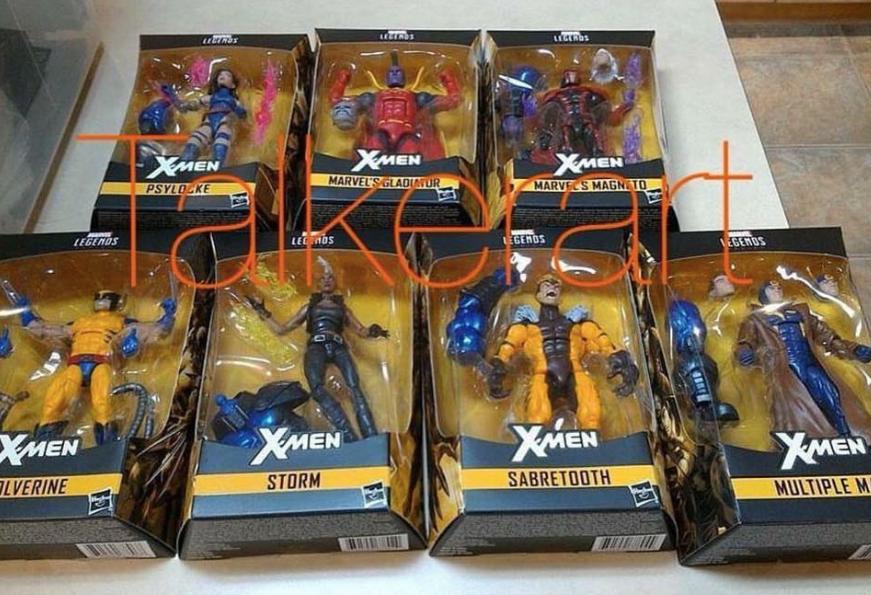X Men Wave lands