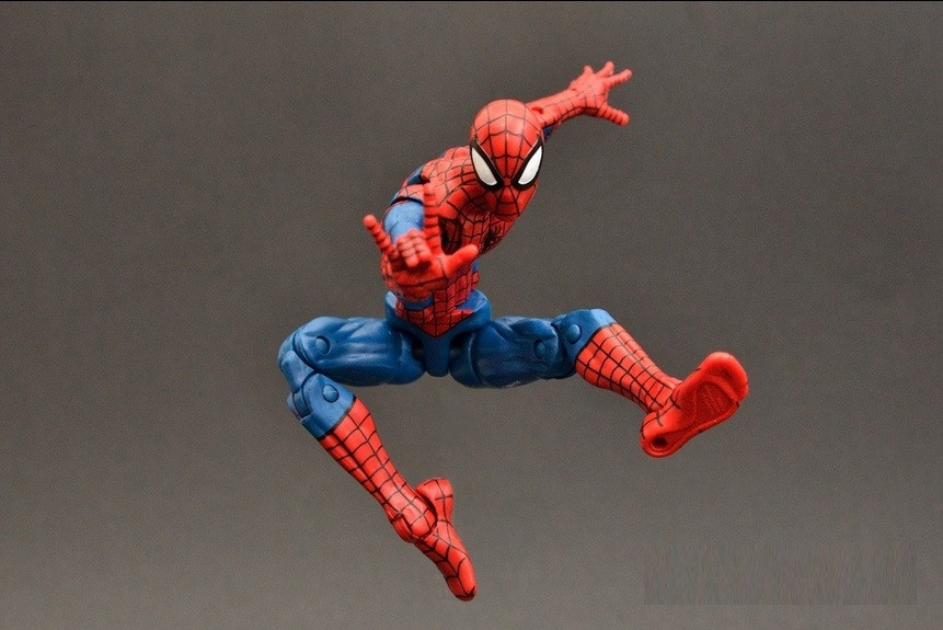 Marvel Legends PIzza Spidey