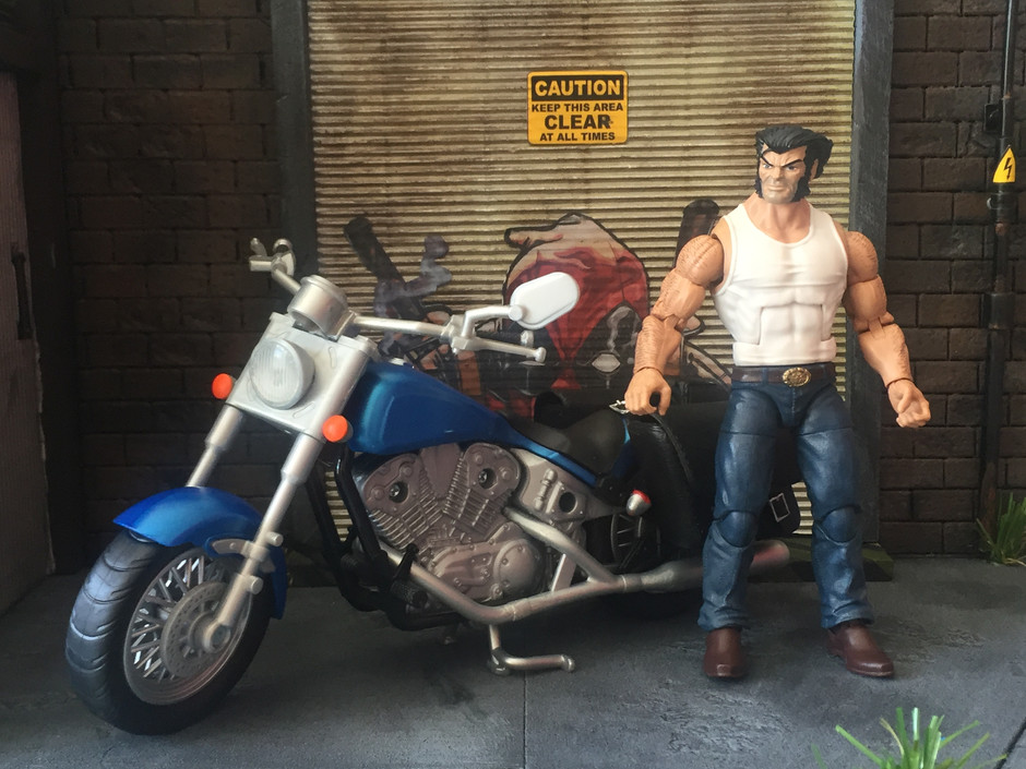 Marvel Legends Ultimate Rider Wolverine