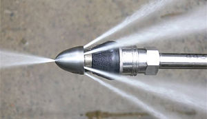 High Powered Water Jetting