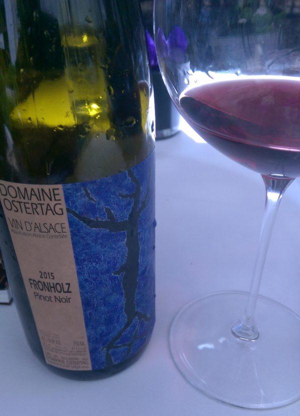 Domaine Ostertag Pinot Noir Fronholz Alsace 2015
