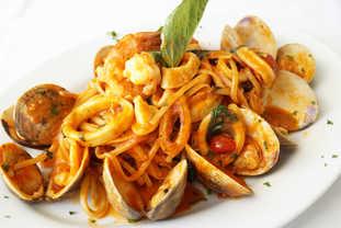 Linguine alle vongole aglio olio