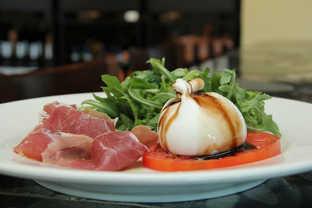 Mozzarella and Prosciutto