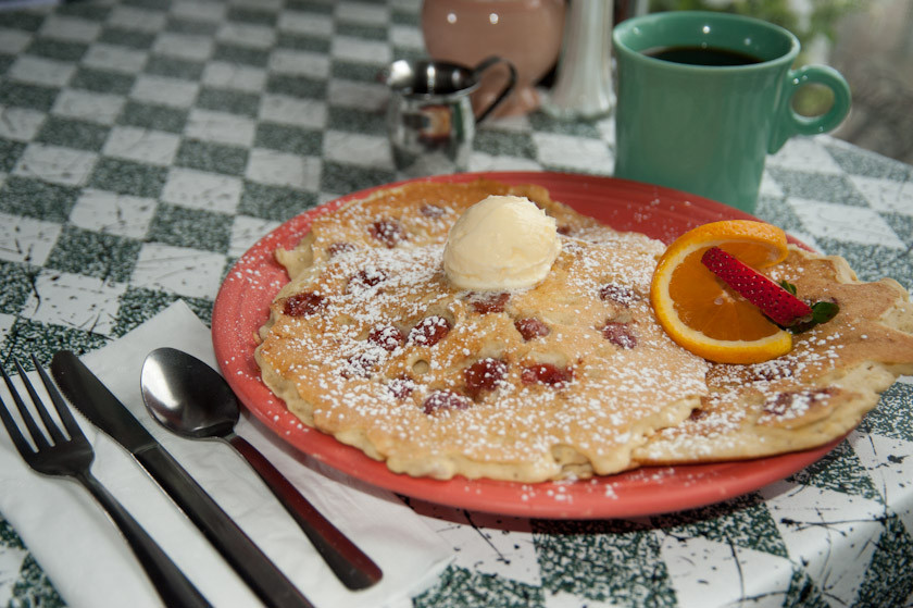 Door County Cherry Pancakes