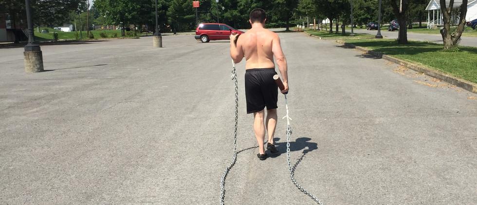 Chain dragging