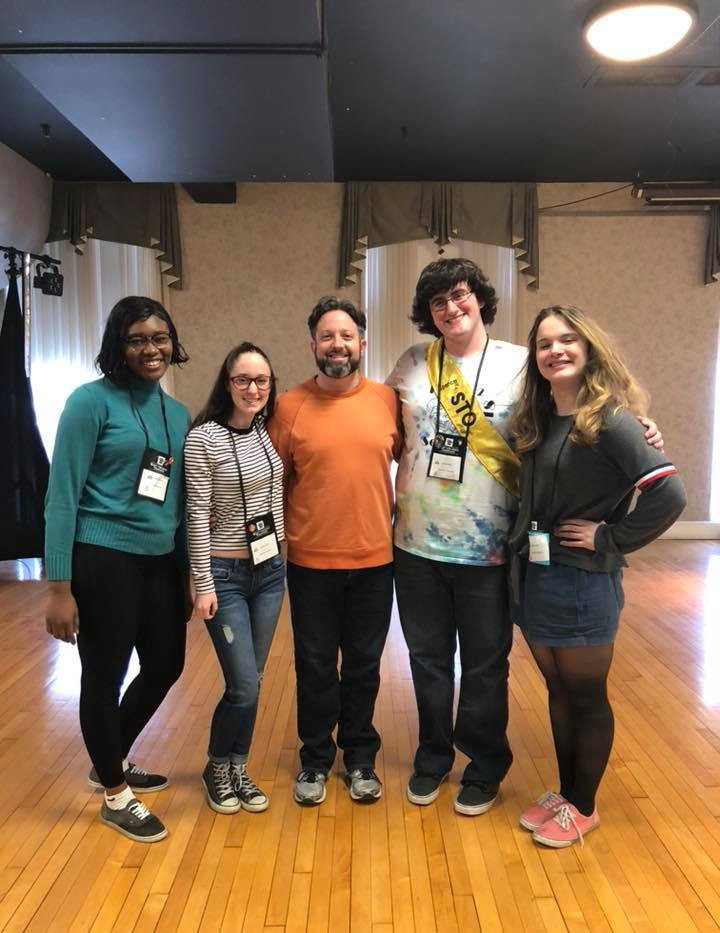 Body-mapping Workshop - WV Thespian Festival