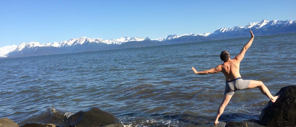 Yoga practice - Homer, AK